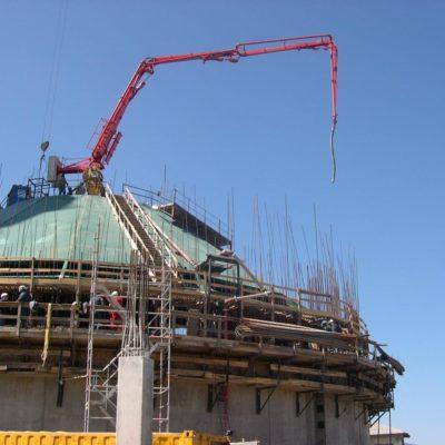 Silo en construcción