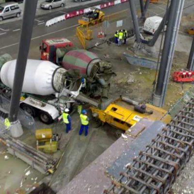 Terminal T4 en construcción